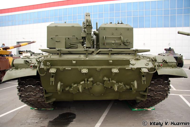 Транспортно-заряжающая машина ТЗМ-Т для ТОС-1А (TOS-1A reloader TZM-T)