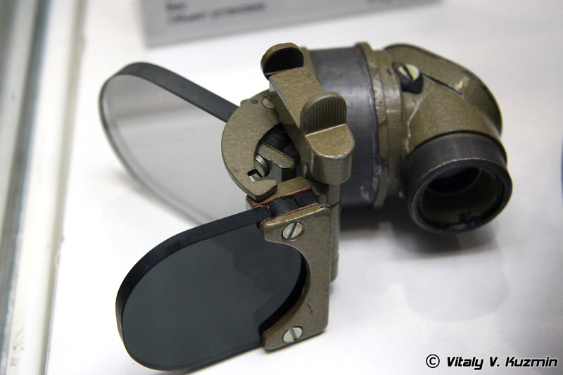 ВК-10Т прицел коллиматорный для пулемета НСВ-12,7 (VK-10T collimator scope for NSV machinegun)