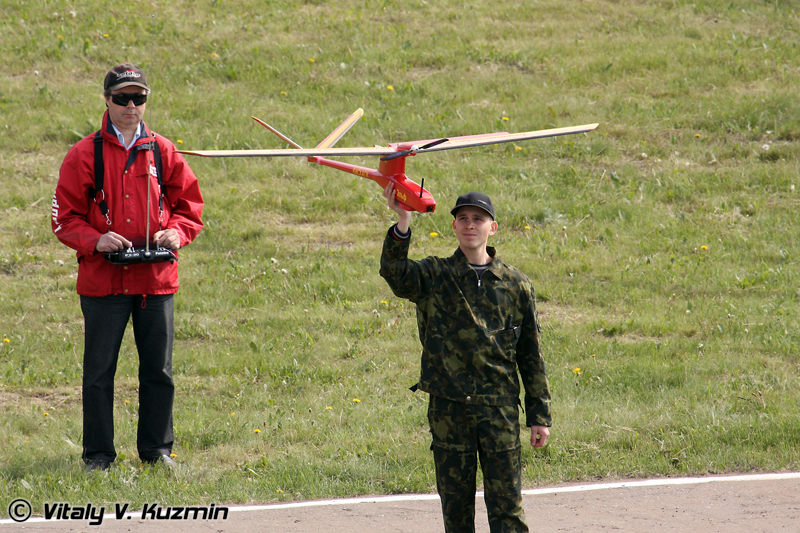 Демонстрация БПЛА Ельф ПП-40 (Elf PP-40 UAV demonstration)