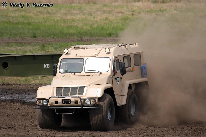 Вездеход Трэкол (All-terrain vehicle Trekol)