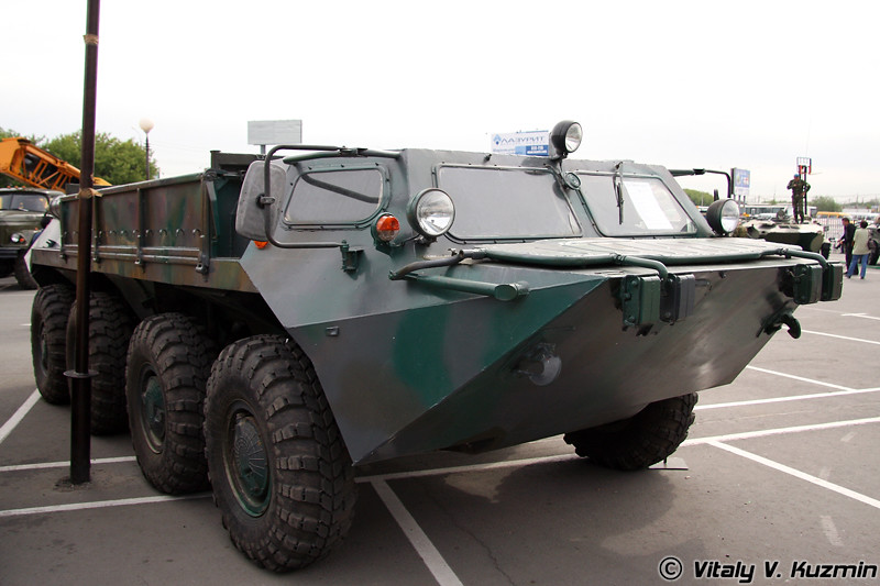 Плавающий вездеход ГАЗ-59037 (GAZ-59037 all-terrain vehicle)