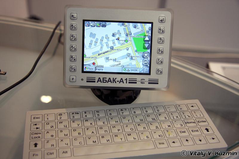 АБАК-А1 портативное GPS/Глонасс устройство (ABAK-A1 personal GPS/Glonass device)