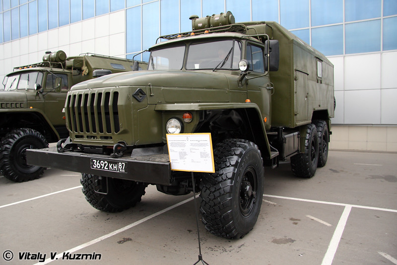 Мастерская электрооборудования МЭС (MES electric equipment repair vehicle)