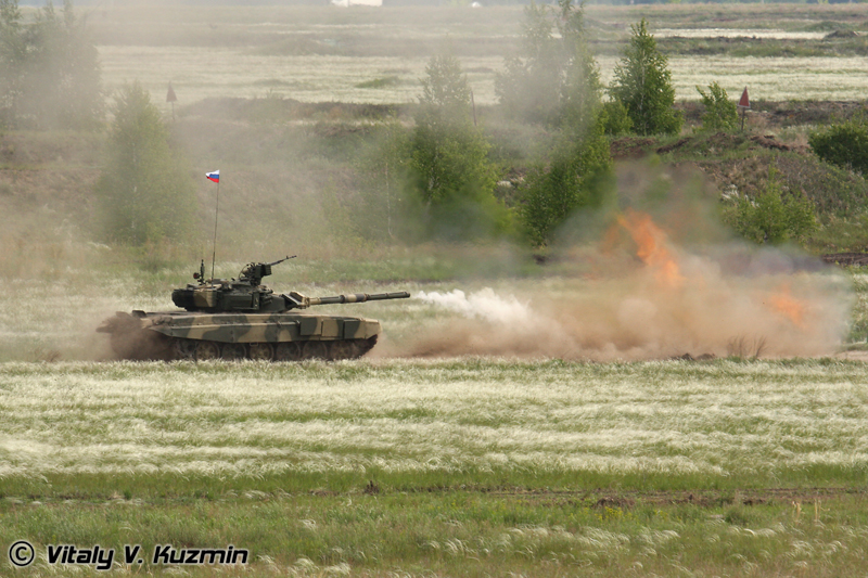 Стрельба Т-90С (T-90S firing)