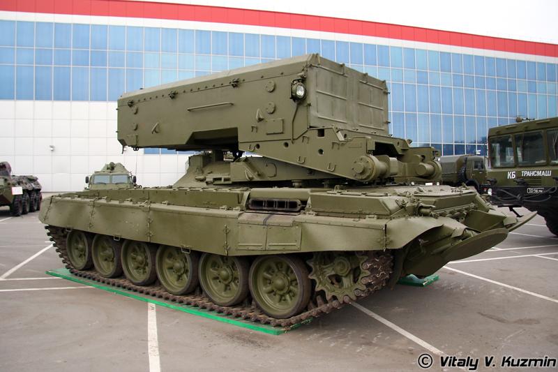 Боевая машина системы ТОС-1А Солнцепек (TOS-1A Solntsepek combat vehicle)