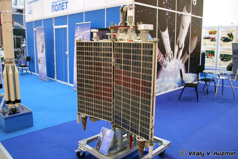Малый космический аппарат Стерх (Sterkh space device model)