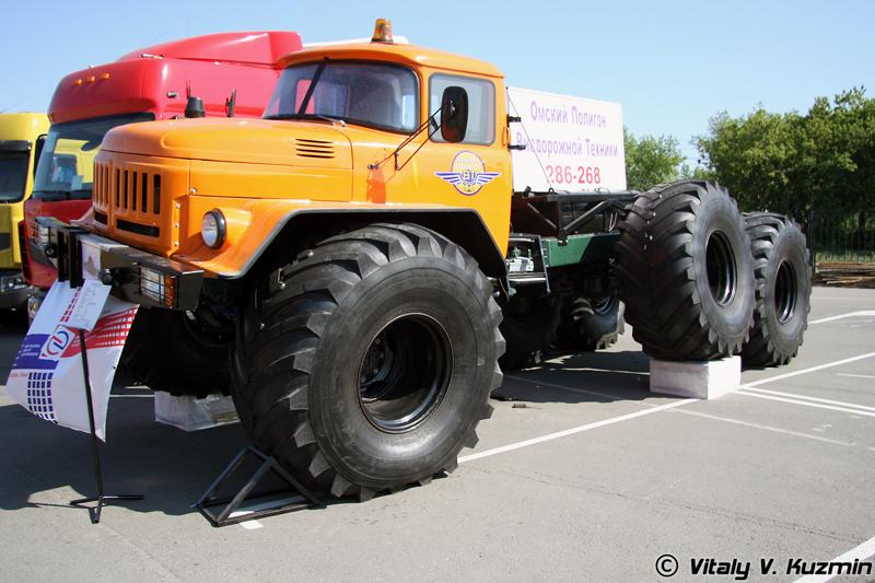 Вездеход Легкоступ (Legkostup all-terrain vehicle)