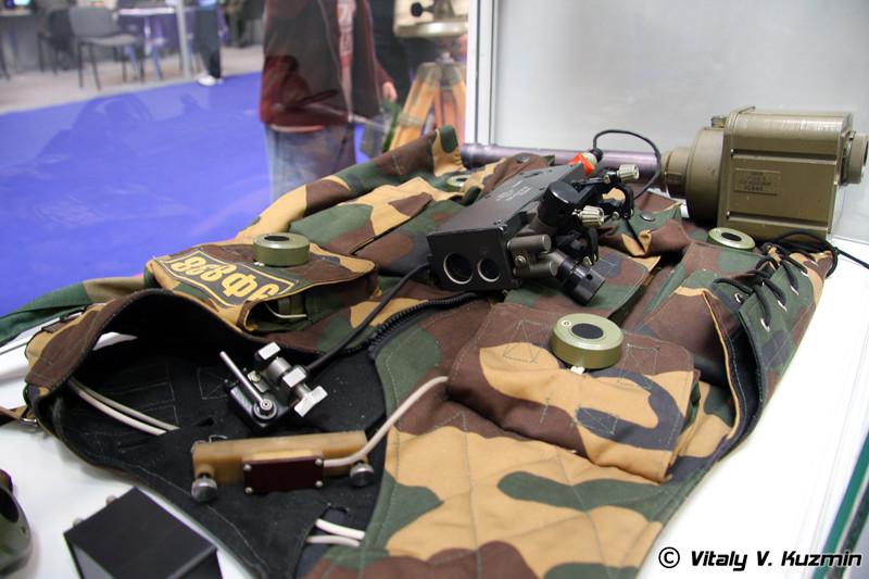 9Ф838 Взводный комплект лазерных имитаторов стрельбы и поражения (9F838 laser shoting simulator)