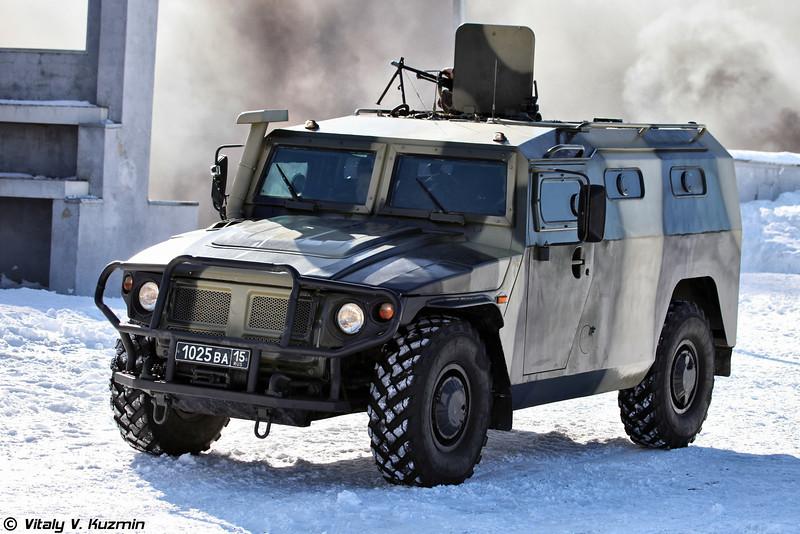 ГАЗ-233036 СПМ-2 604-го ЦСН (Special police vehicle GAZ-233036 SPM-2)