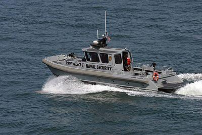 San Diego Naval Security Patrol Boat