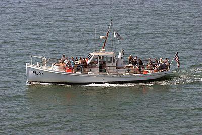 "San Diego Maritime Museum's ""Pilot"".  Restored 1914 San Diego Harbor Pilot boat."