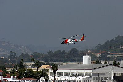 US Coast Guard HH-60 Jayhawk helicopter