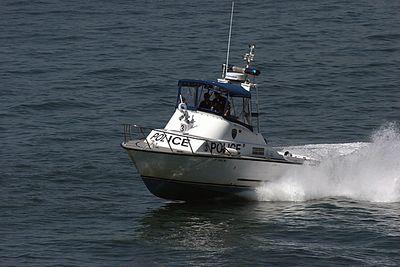 San Diego Harbor Police Patrol Boat