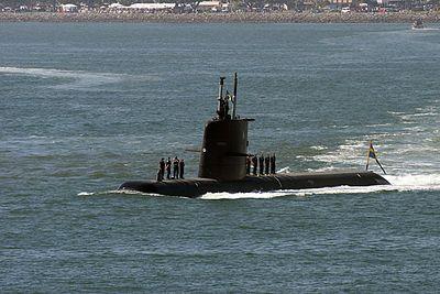 HMS Gotland  (Sweden) Diesel Electric submarine