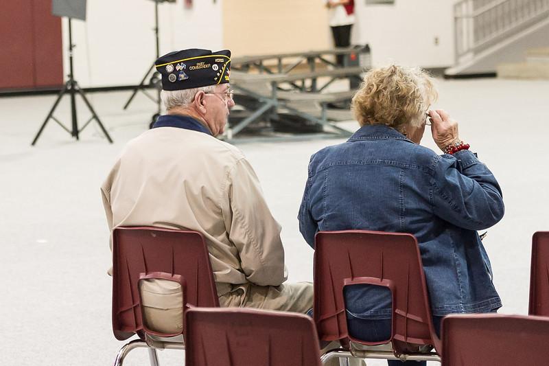 Veterans Day, Antelope Gym 11-11-2013