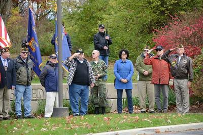 Veterans Day Ceremony - Naperville, Illinois - November 11, 2016