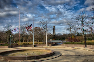 Marine Corps Flag Raising Ceremony - City Hall - Naperville, Illinois - November 10, 2017