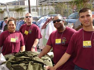 Veterans Day Community Service, 2005.