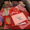 Valentines Day 2017 Salute to Our Veterans Program at Bedford VA hospital. Valentines made by school children to be handed out to veterans at the hospital. (SUN/Julia Malakie)