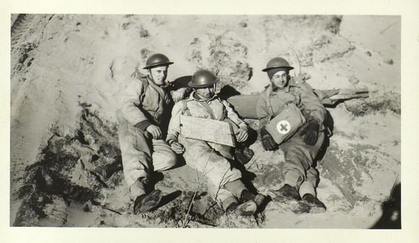 Lloyd Lantz at left.
