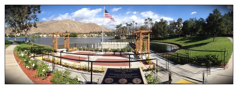 Vet's Memorial Dedication Sunnymead Ranch