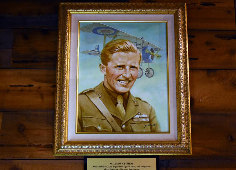 Air Marshal William 'Billy' Bishop VC, San Diego Air and Space Museum, California, 30 April 2019 1.   Bishop was the top Canadian and British Empire air ace of World War 1, credited with 72 victories.