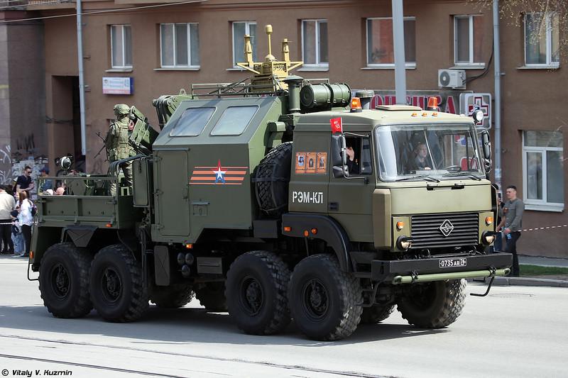 РЭМ-КЛ с передатчиком помех РП-377УВМ1Л (REM-KL with RP-377UVM1L jammer)