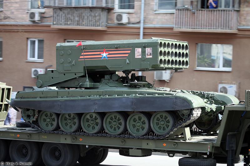 БМ-1 ТОС-1А Солнцепек (BM-1 TOS-1A launcher)
