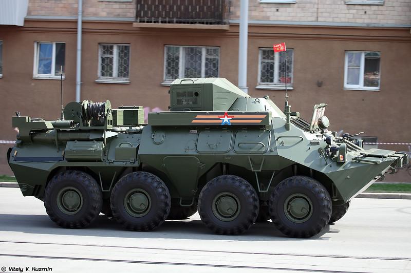 КШМ Р-149МА1 (R-149MA1 command vehicle)