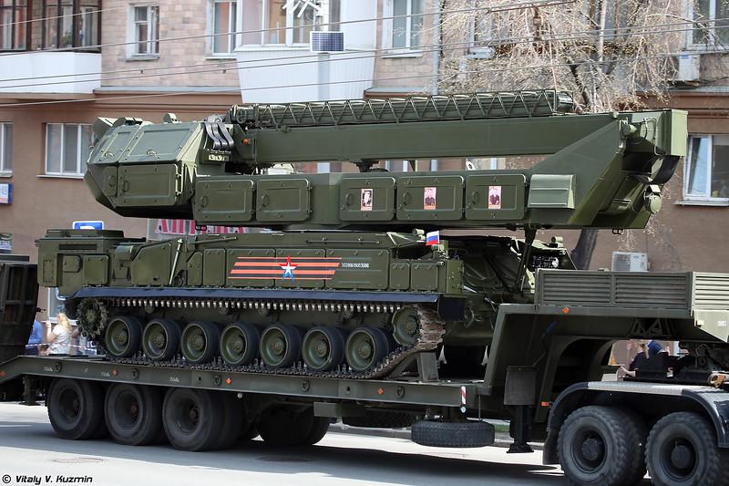 РПН 9С36М ЗРК 9K317M Бук-M3 (9S36M engagement radar of 9K317M Buk-M3)