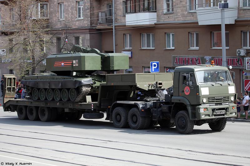 ТЗМ-Т ТОС-1А Солнцепек (TZM-T TOS-1A transloader)