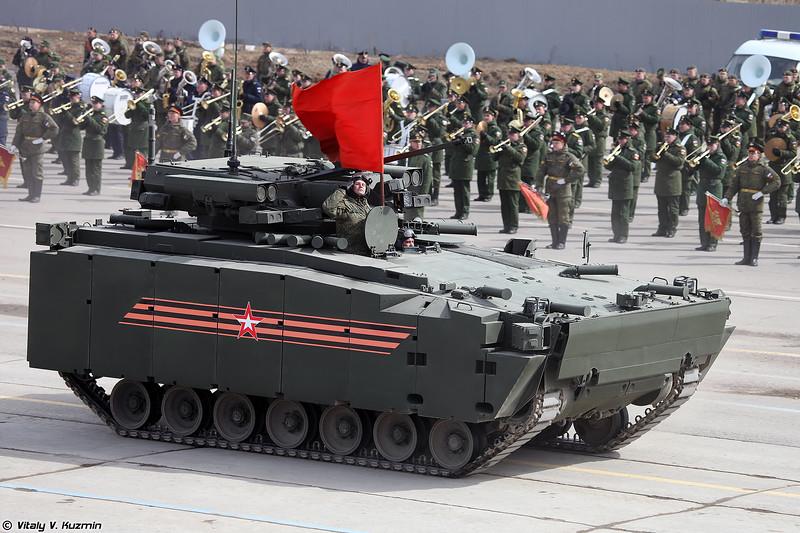 Боевая машина пехоты объект 695 на средней гусеничной платформе Курганец-25 (Infantry fighting vehicle object 695 on medium tracked platform Kurganets-25)