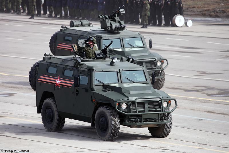 Бронеавтомобиль АCН 233115 Тигр-М СПН (ASN 233115 Tigr-M SPN armored vehicle)