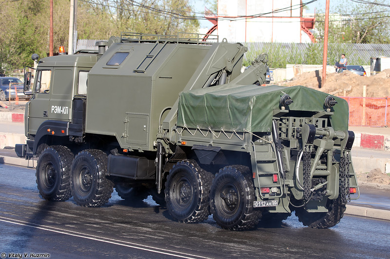 Ремонтно-эвакуационная машина колесная легкая РЭМ-КЛ (Wheeled repair and recovery vehicle REM-KL)