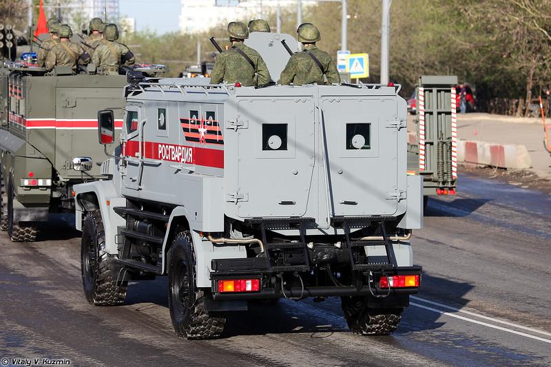 Бронированный корпусной автомобиль Патруль (Patrul armored vehicle)