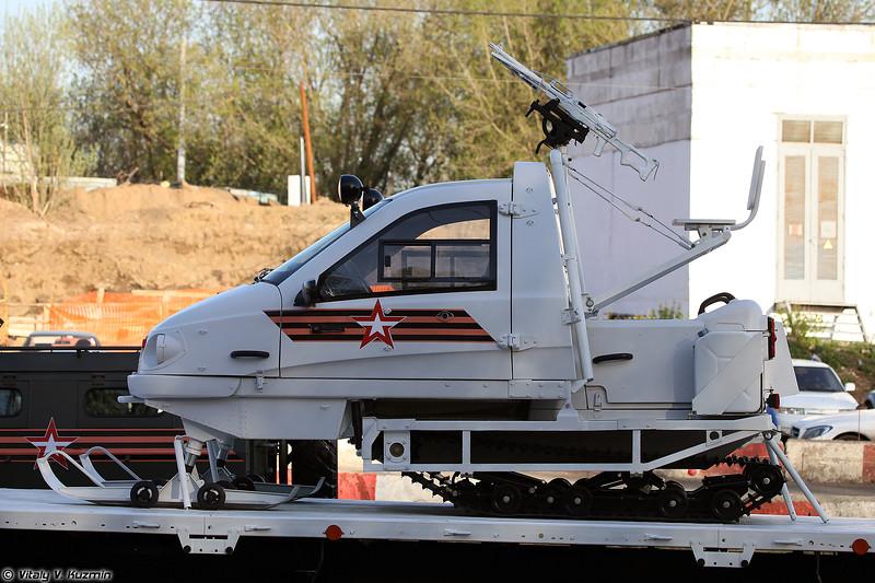 Снегоход ТТМ-1901-40 (Snowmobile TTM-1901-40)