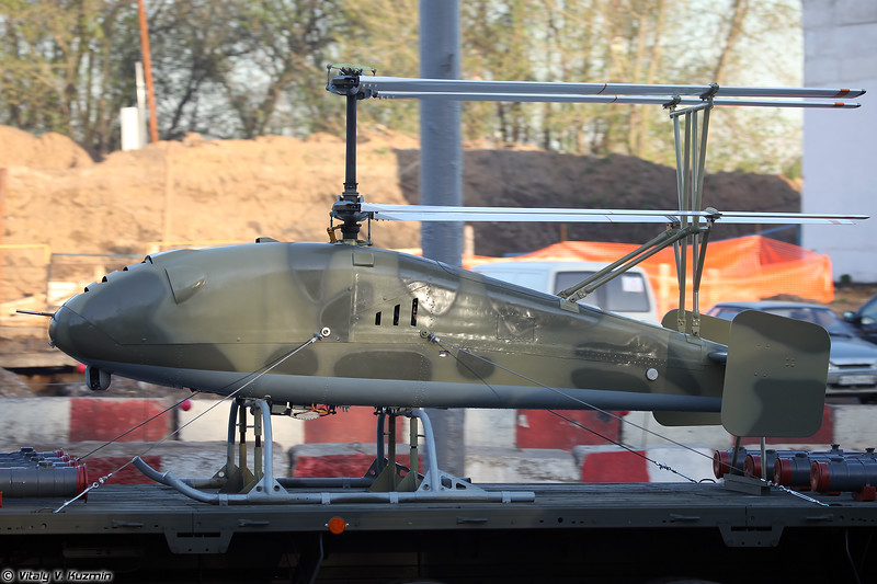 Второй вариант облика БЛА ВТ Катран (Katran UAV second version)