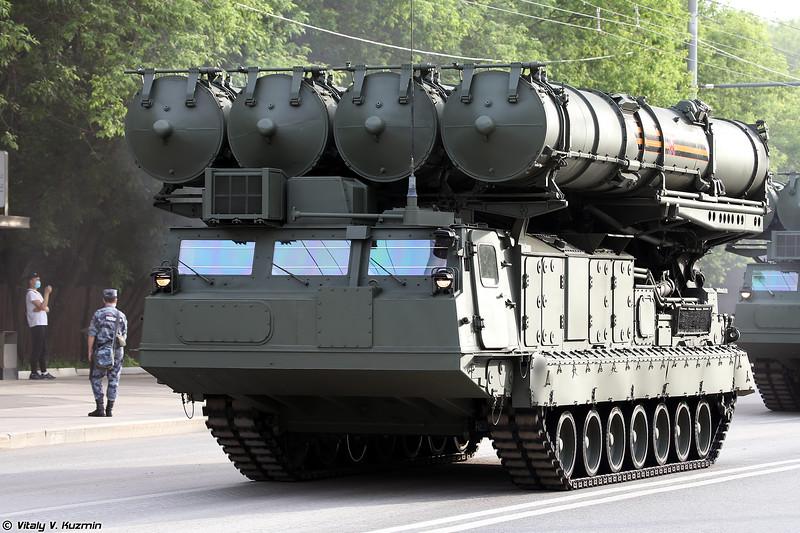 Пусковая установка 9А83М ЗРС С-300В4 (9A83M TELAR of S-300V4 system)