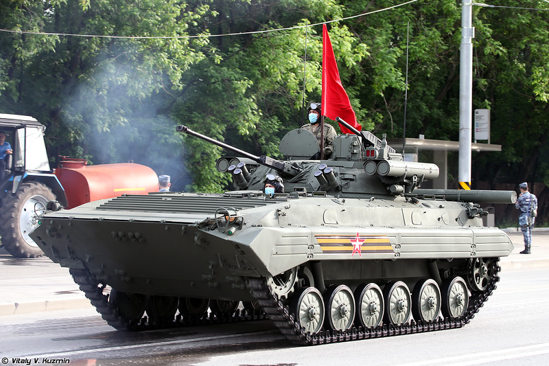 БМП-2М с комплексом вооружения Б05Я01 Бережок (BMP-2M with B05Ya01 Berezhok turret)