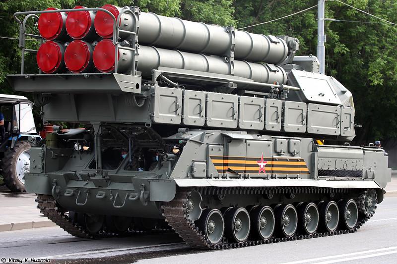 Самоходная огневая установка 9А317М ЗРК 9K317M Бук-M3 (9A317M TELAR of 9K317M Buk-M3)