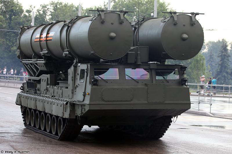 Пуско-заряжающая установка 9А84М-1 ЗРС С-300В4 (9A84M-1 launcher/loader of S-300V4 system)