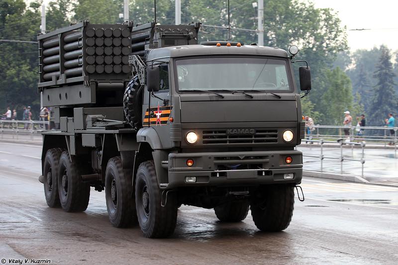 Боевая машина инженерной системы дистанционного минирования ИСДМ (ISDM minelaying system launcher)