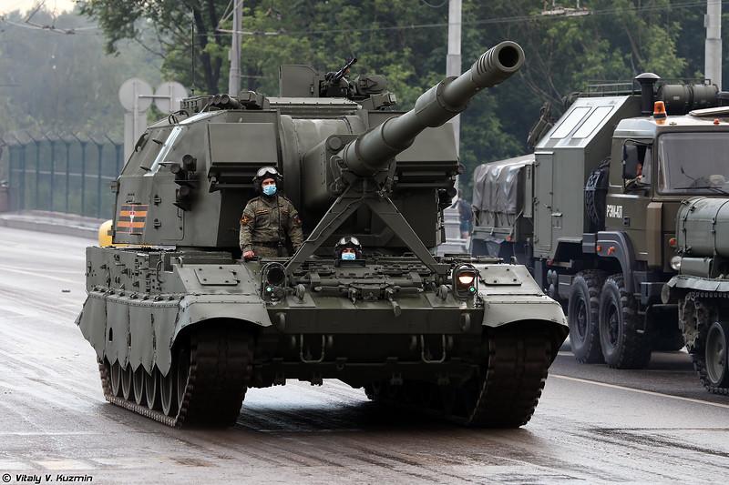 САУ 2С35 Коалиция-СВ (2S35 Koalitsiya-SV)
