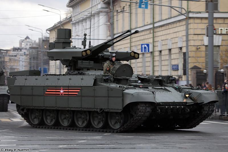 Боевая машина поддержки БМПТ (BMPT armored fighting vehicle)