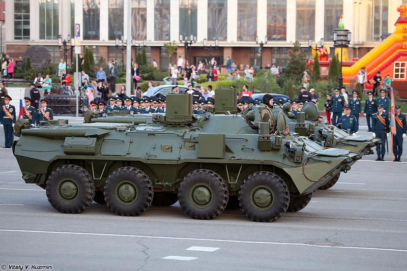 Разведывательная химическая машина РХМ-6 (RKhM-6 chemical reconnaissance vehicle)