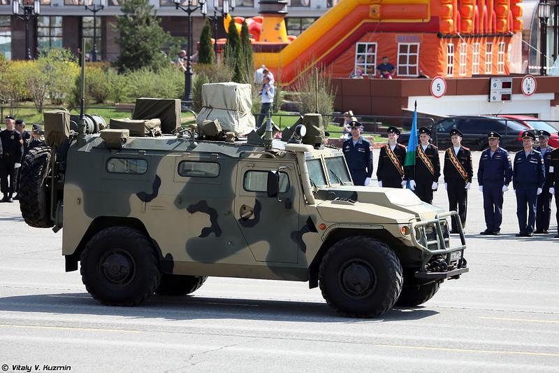 Машина радиационной и химической разведки РХМ-8 (RKhM-8 NBC reconnaissance vehicle)