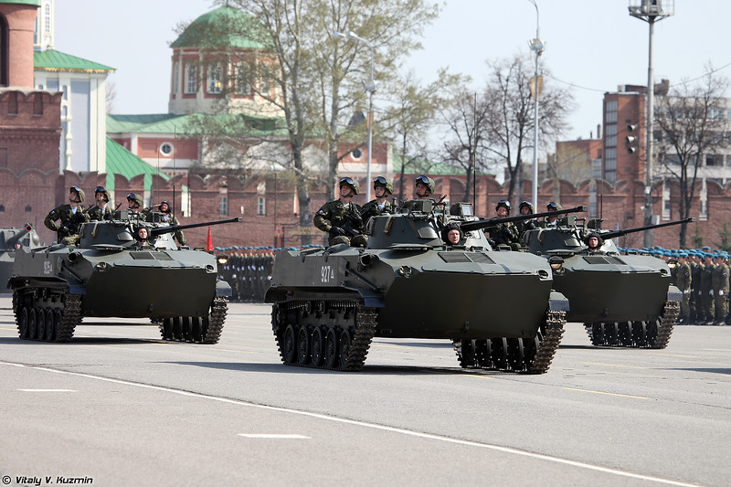 БМД-2 (BMD-2 airborne infantry fighting vehicle)