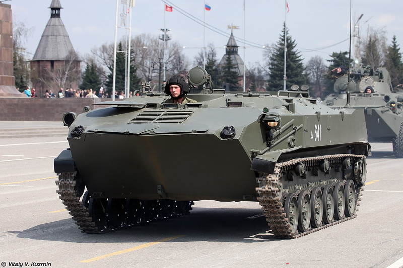 Бронетранспортер БТР-ЗД (BTR-ZD armored personnel carrier)