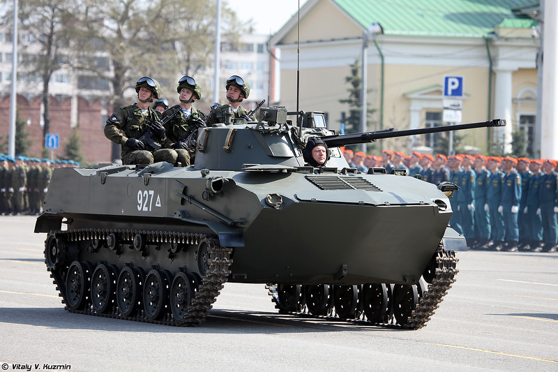 БМД-2 (BMD-2 airborne infantry fighting vehicle)