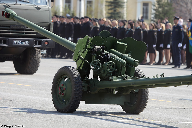 85-мм дивизионная пушка Д-44 (85-mm divisional gun D-44)
